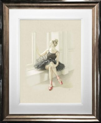 Black Swan I Kay Boyce Framed