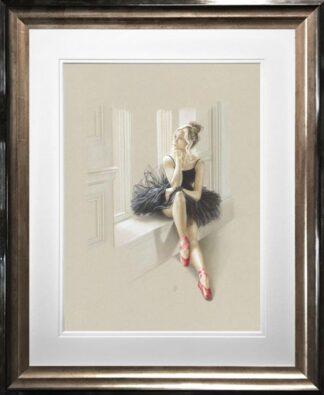 Black Swan II Kay Boyce Framed