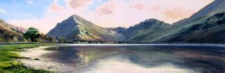 Lake District Splendour By Duncan Palmer Signed Limited Edition Paper Print Mounted