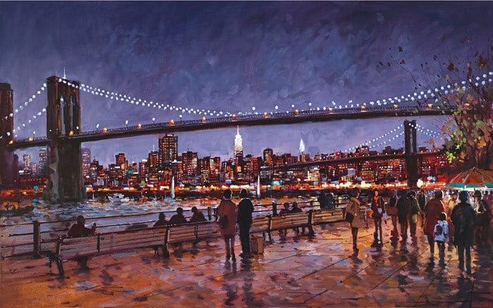 Brooklyn Bridge By Henderson Cisz Signed Limited Edition