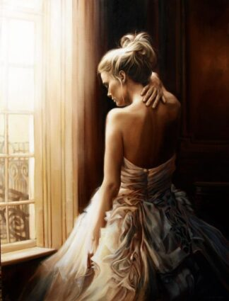 Contemplation By Ben Jeffery Signed Limited Edition Canvas Print on Board