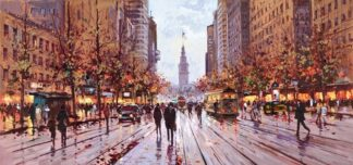 Market Street San Francisco By Henderson Cisz Signed Limited Edition