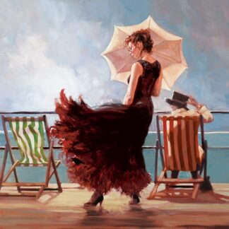 Dancing On The Deck - Signed Limited Edition Print By Mark Spain - Canvas on Board - Unframed