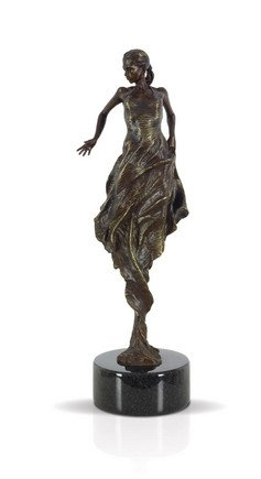 Flamenco Dancer - Bronze - Signed Limited Edition Bronze Sculpture From Fabian Perez