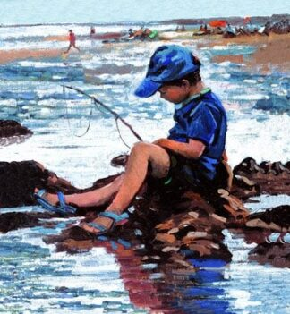 Gone Fishing (Canvas)