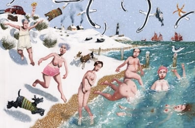 New Years Day Bathing Club