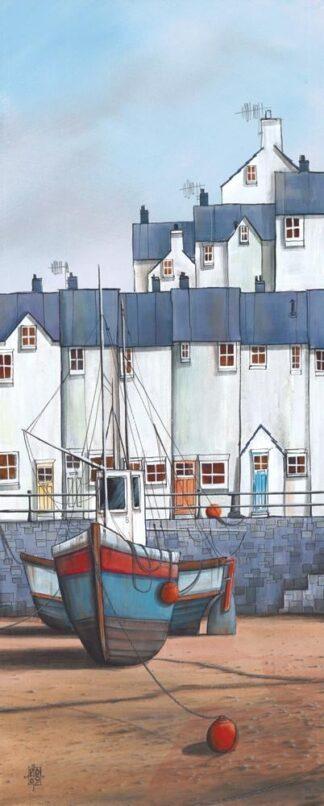 Quayside Terrace I (Canvas)