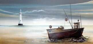 The Old Red Trawler (canvas)