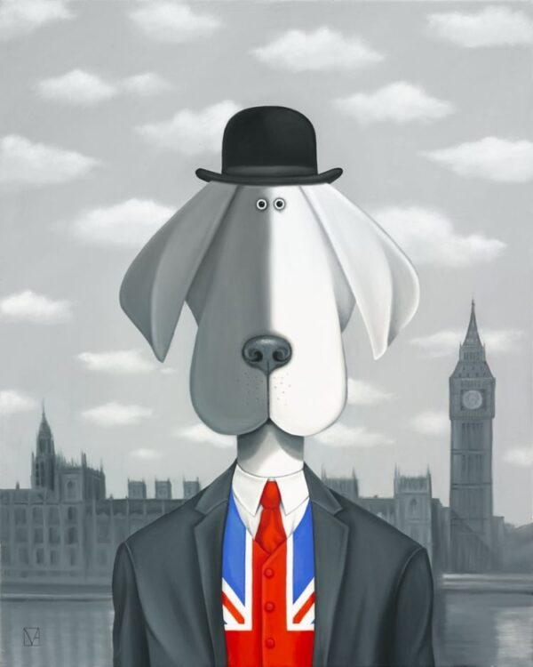 The Patriotic Hound of Westminster