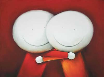 Hugs By Doug Hyde Limited Edition Mounted Gicl 233 E On Paper