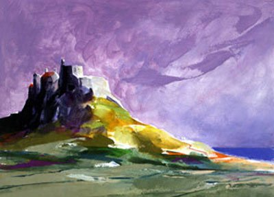 Lindisfarne I Unmounted Silkscreen Print by Donald Hamilton Fraser