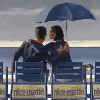 Blue Blue - Signed limited Edition Print By Jack Vettriano - Paper and Mounted