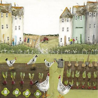 Hen Party - Signed Limited Edition Print From Rebecca Lardner