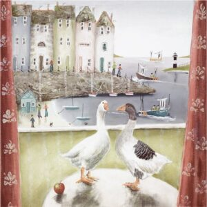 Home Birds By Rebecca Lardner Signed Limited Edition Print