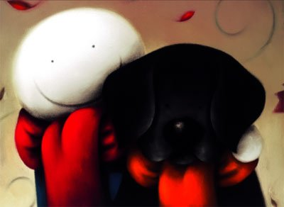 Together By Doug Hyde Limited Edition Mounted Gicl 233 E On