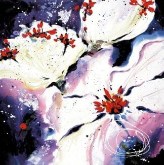 Fire and Ice III (Three Flowers)