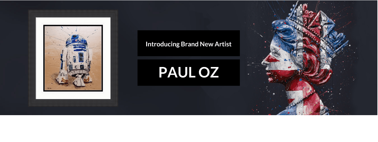 We're Thrilled to Welcome Explosive Artist & Sculptor, Paul Oz, To Collectors Prints