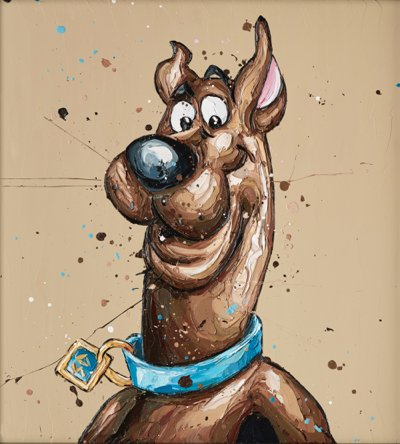 Scooby By Paul Oz Signed Limited Edition Paper print