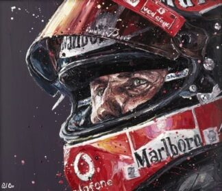 Schumi By Paul Oz Signed Limited Edition Paper print