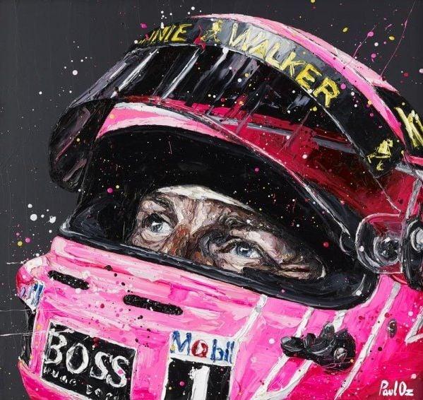 Pink Jenson - Signed Limited Edition From Paul Oz