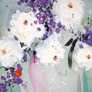 Lovelight I By Danielle O'Connor Akiyama Signed Limited Edition Hand Embellished Canvas Print