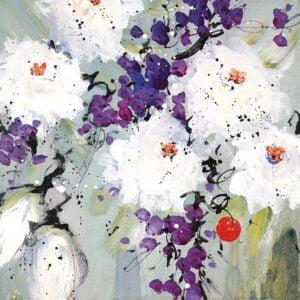Lovelight II By Danielle O'Connor Akiyama Signed Limited Edition Hand Embellished Canvas Print