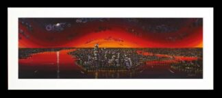 New York, New York By Rayford Signed Limited Edition Framed Resin Print