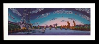 Up at First Light By Rayford Signed Limited Edition Framed Resin Print