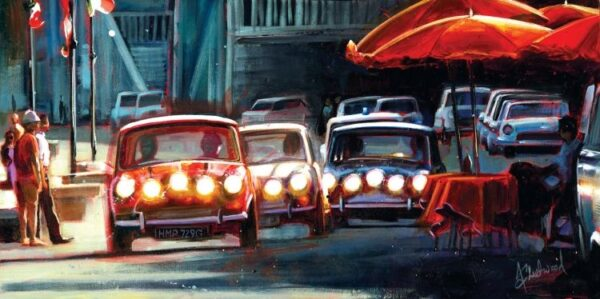 The Getaway By Fleetwood Signed Limited Edition Giclee Canvas on Board