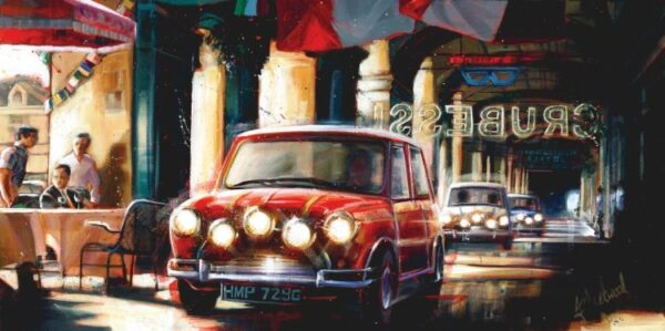 The Getaway II By Fleetwood Signed Limited Edition Giclee Canvas on Board