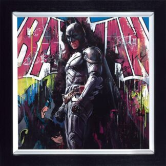 Gotham Hero By Zinsky Signed Limited Edition Canvas Hand Finished Framed