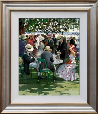 Shared Memories I By Sherree Valentine Daines Signed Limited Edition Hand Finished Canvas Framed