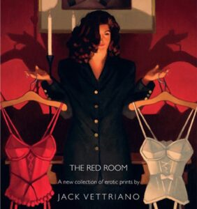 The Red Room Collection By Jack Vettriano Signed Limited Edition Paper Print Mounted