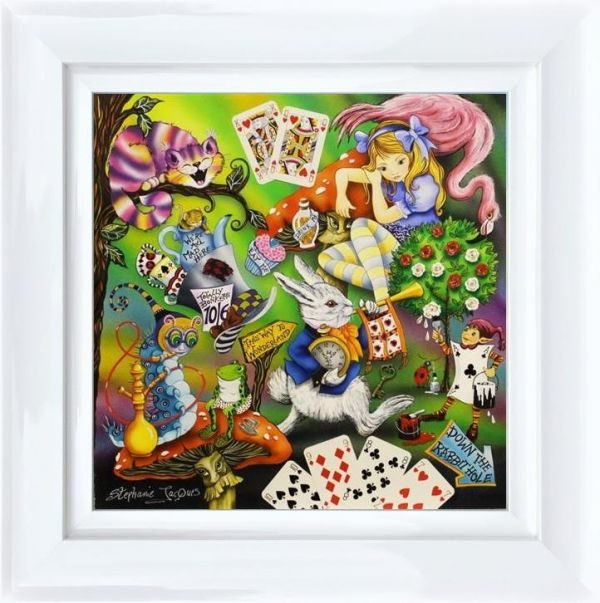Alice by Stephanie Jacques Framed