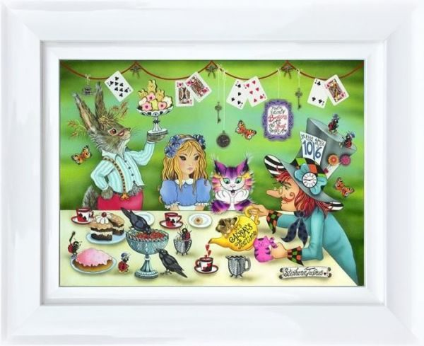 Its Always Tea Time by Stephanie Jacques Framed