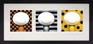 Bronze, Silver, Gold By Doug Hyde Signed Limited Edition Framed Paper Print