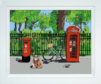 Rule Britannia Signed Limited print by Dylan Izaak - Framed in the artists recommended frame