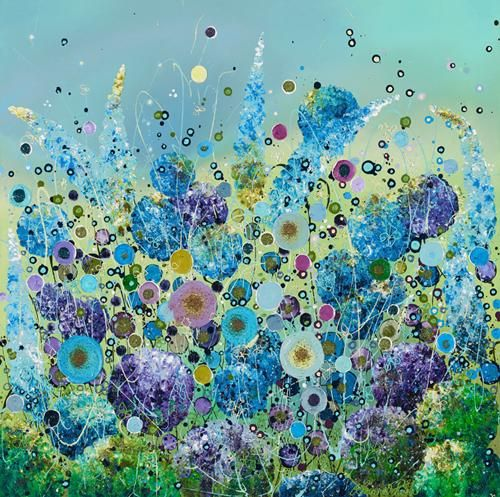 Sparkle in the Breeze By Leanne Christie Signed Limited Edition Giclee Hand Embellished on Paper Framed