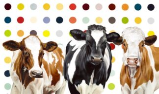Damien's Herd By Hayley Goodhead Signed Limited Edition