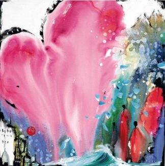 Heart of Hearts I By Danielle O'Connor Akiyama Signed Limited Edition