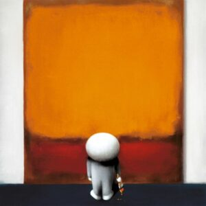 Rothkos Brushtroke of Genius By Doug Hyde - Signed Limited Edition Paper and Mounted
