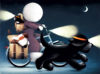 Sunday Riders By Doug Hyde - Signed Limited Edition Paper and Mounted