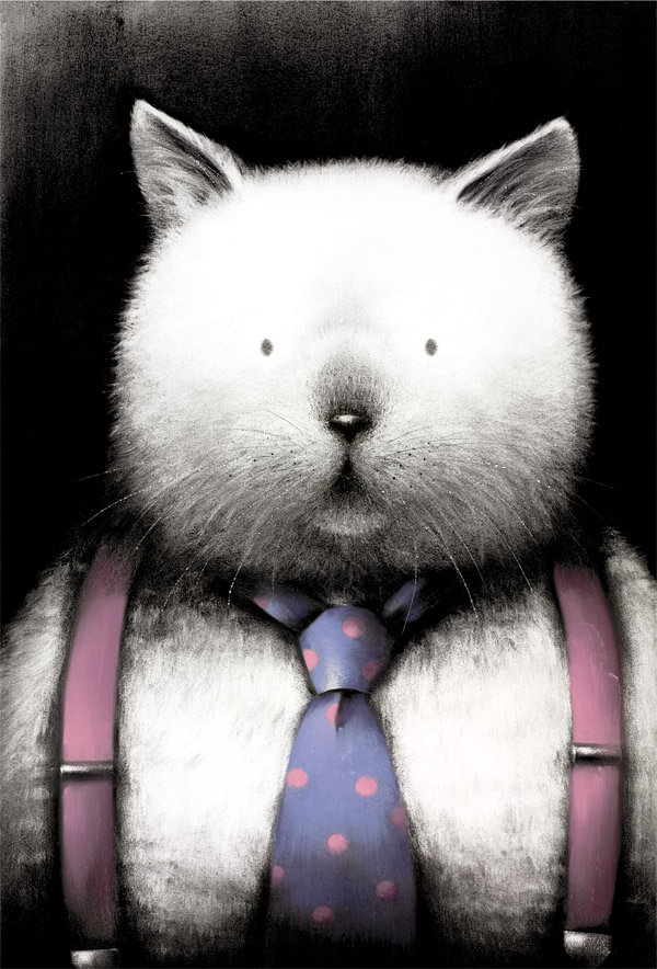 Top Cat By Doug Hyde - Signed Limited Edition Paper and Mounted