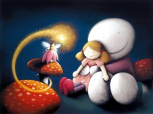 Make A Wish By Doug Hyde - Signed Limited Edition Paper and Mounted