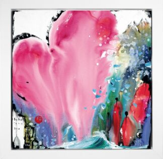 Heart Of Hearts I By Danielle O'Connor Akiyama Signed Limited Edition Framed
