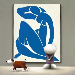 Dogmatic Views of Matisse By Doug Hyde - Signed Limited Edition Paper and Mounted