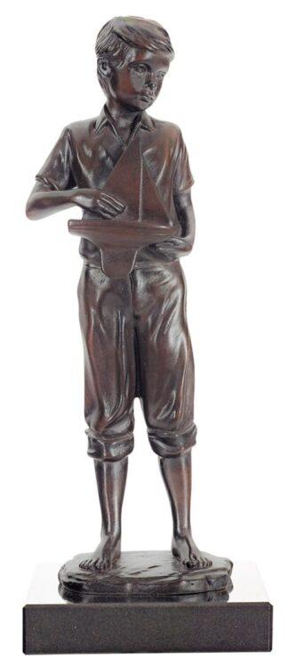 Childhood Dreams Cold Cast Bronze Sculpture by Sherree Valentine Daines
