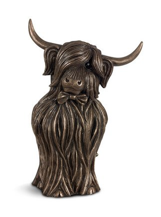 Clyde By Jennifer Hogwood Cold Cast Bronze Signed Limited Edition Sculpture