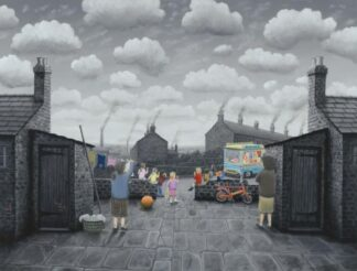 That's Kept Them Quiet By Leigh Lambert Signed Limited Edition Canvas