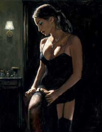 Analucia III by Fabian Perez Signed Limited Edition - Canvas on board